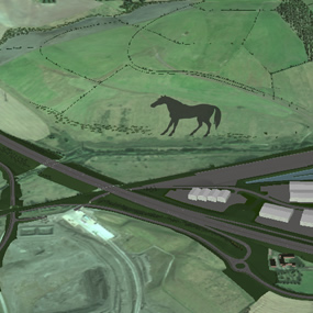 Solar horse gateway